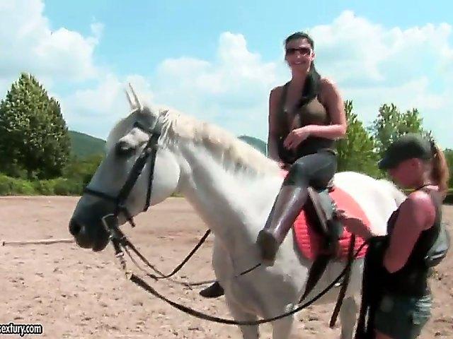Free saddle orgasm videos