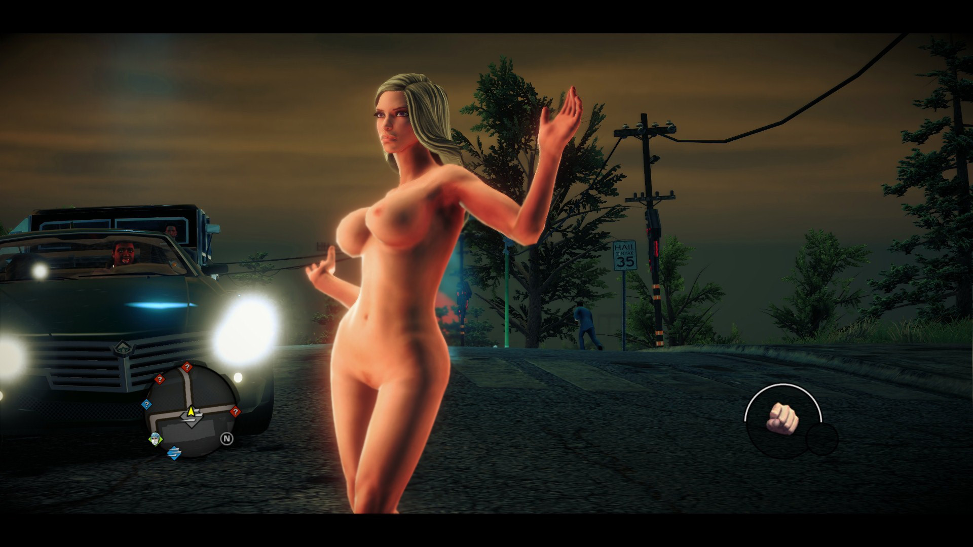 saint row uncensored dick
