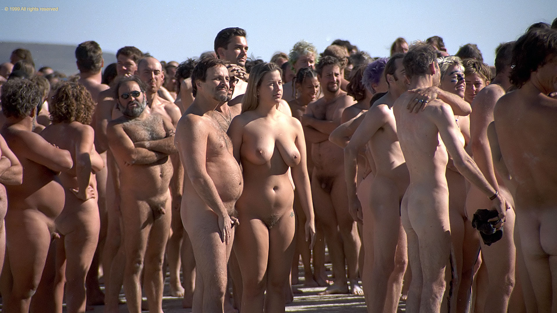 Understood nudes at burning man ebony