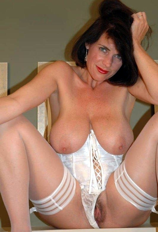 French Mature Anal Lingerie