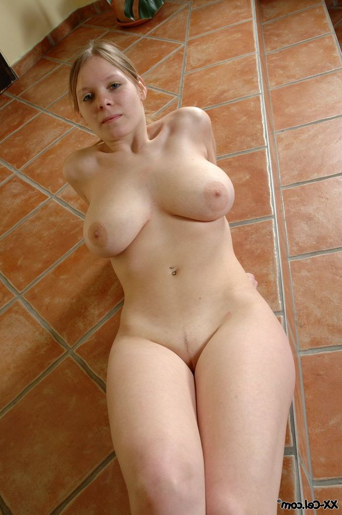 Short hair blonde big tits