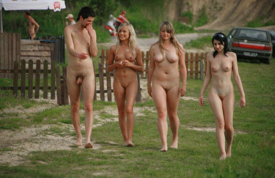 Warm Nude Mixed Gender Scenes