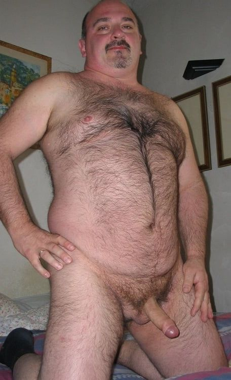 Old hairy daddy porn