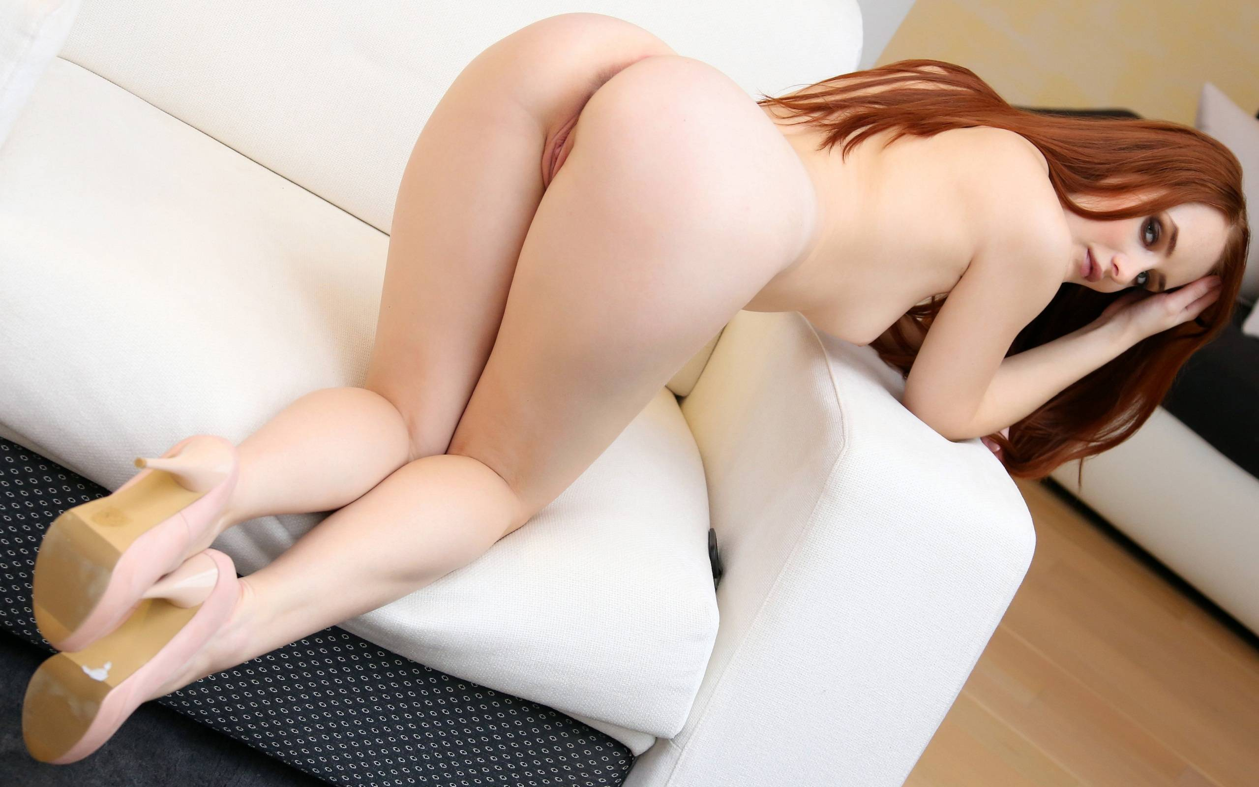 bent over pale pussy