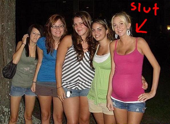 Sluts on the net