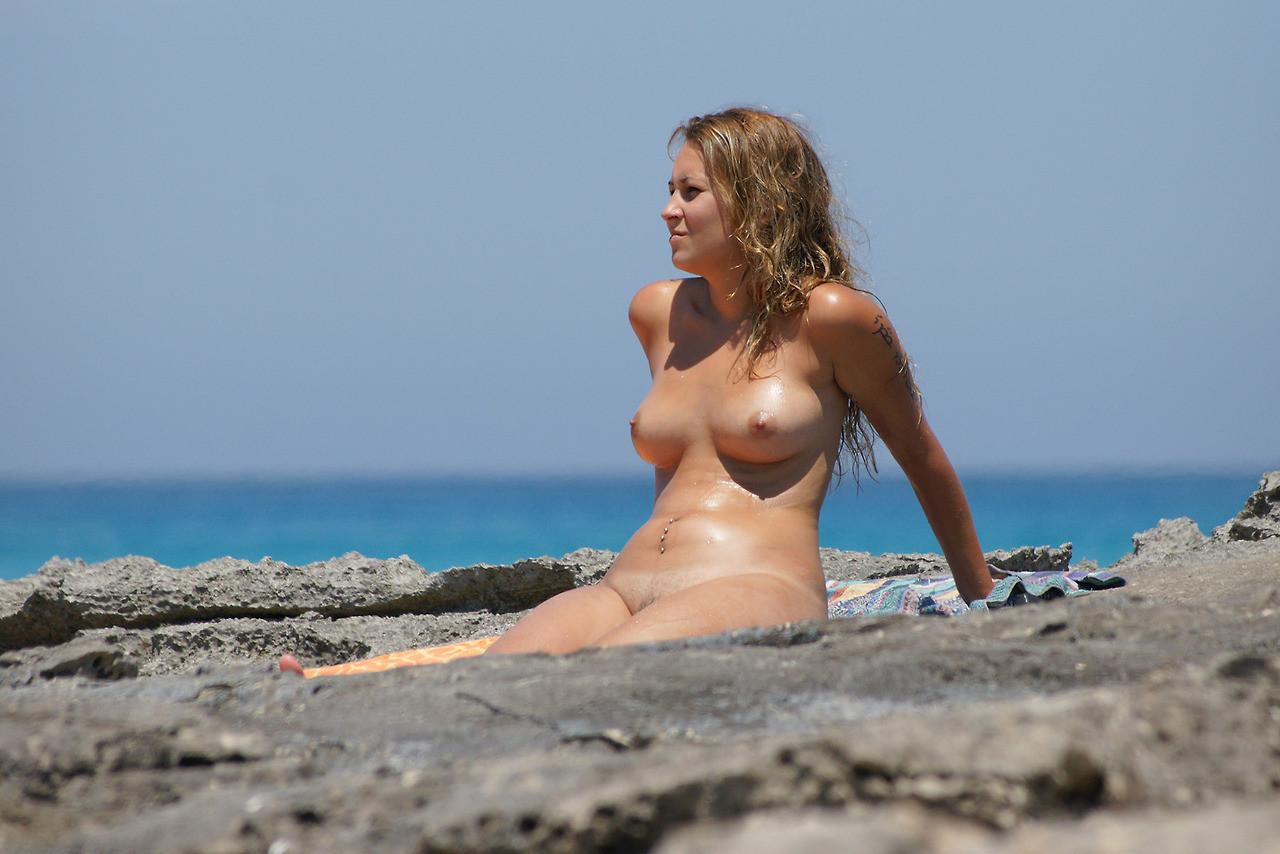 nude on a texas beach