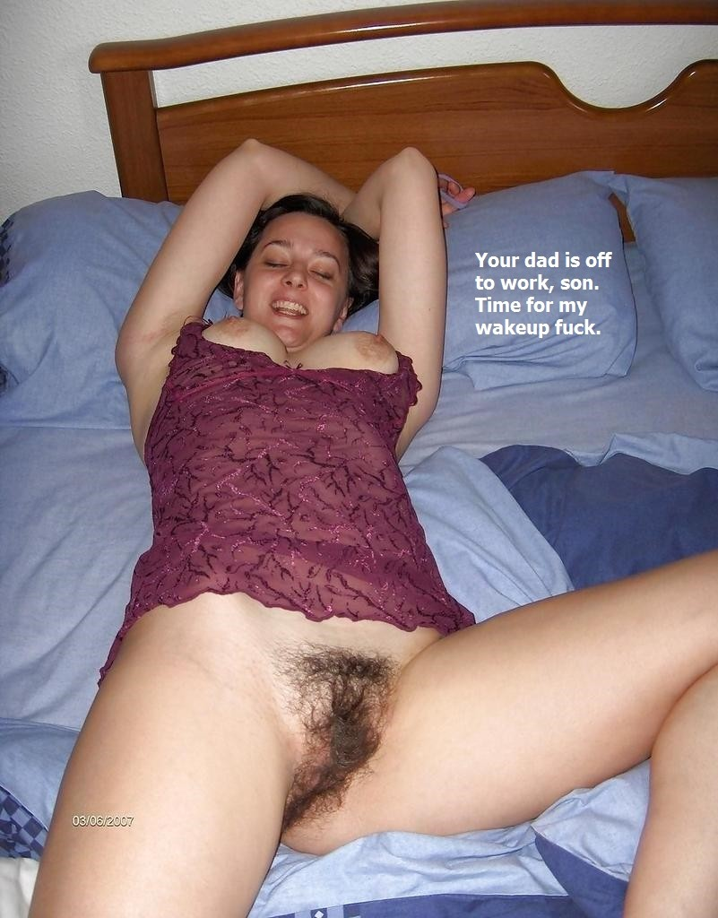 I fuck my mom naked