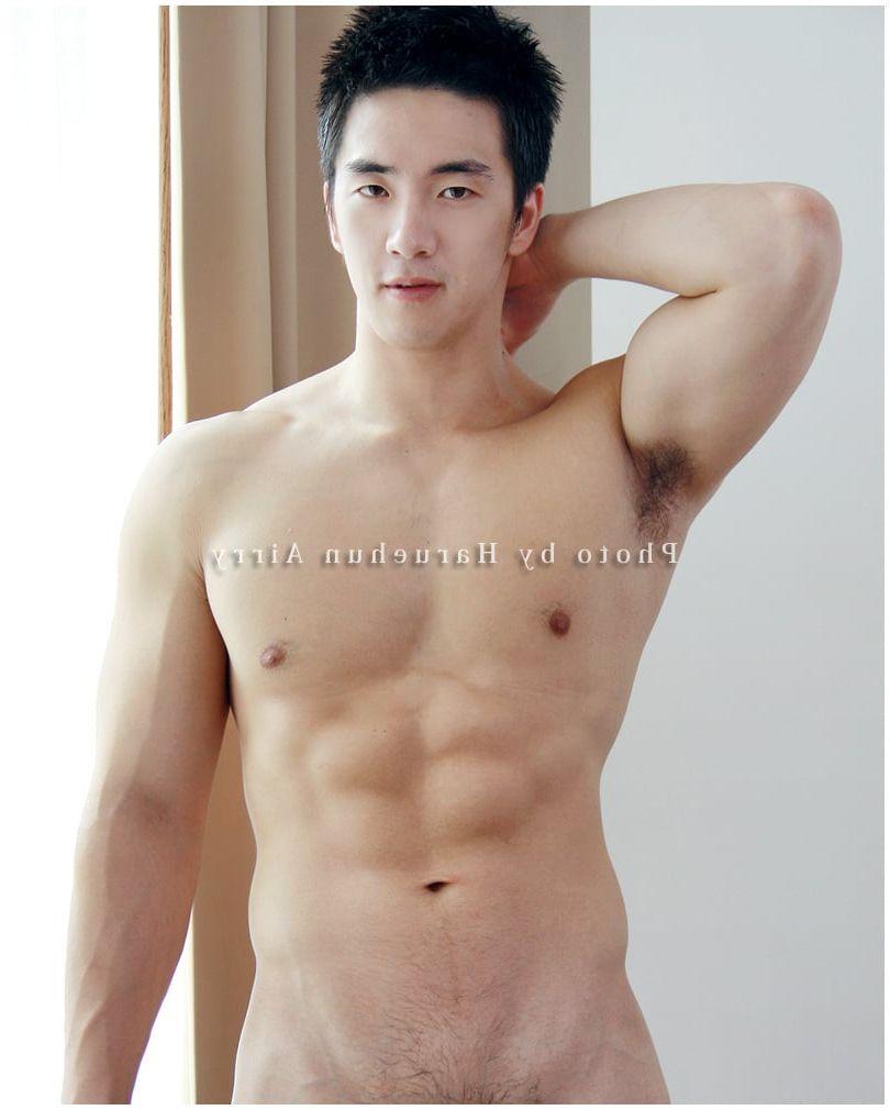 from Duke korean model nude men