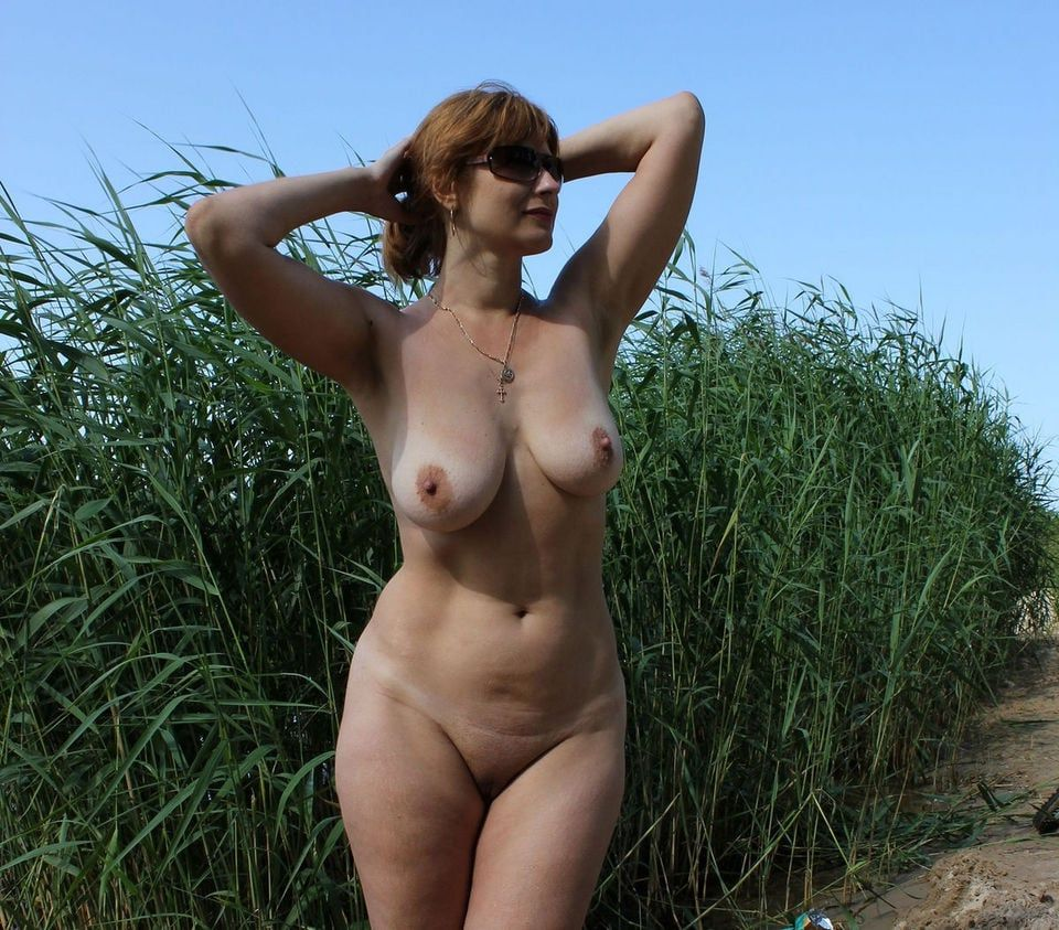 Naked women outdoors nude