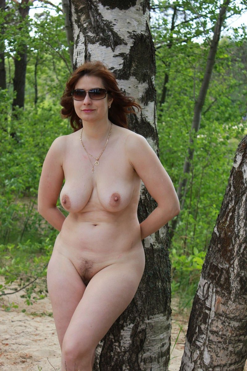 Consider, that Busty amateur milf nude outdoors