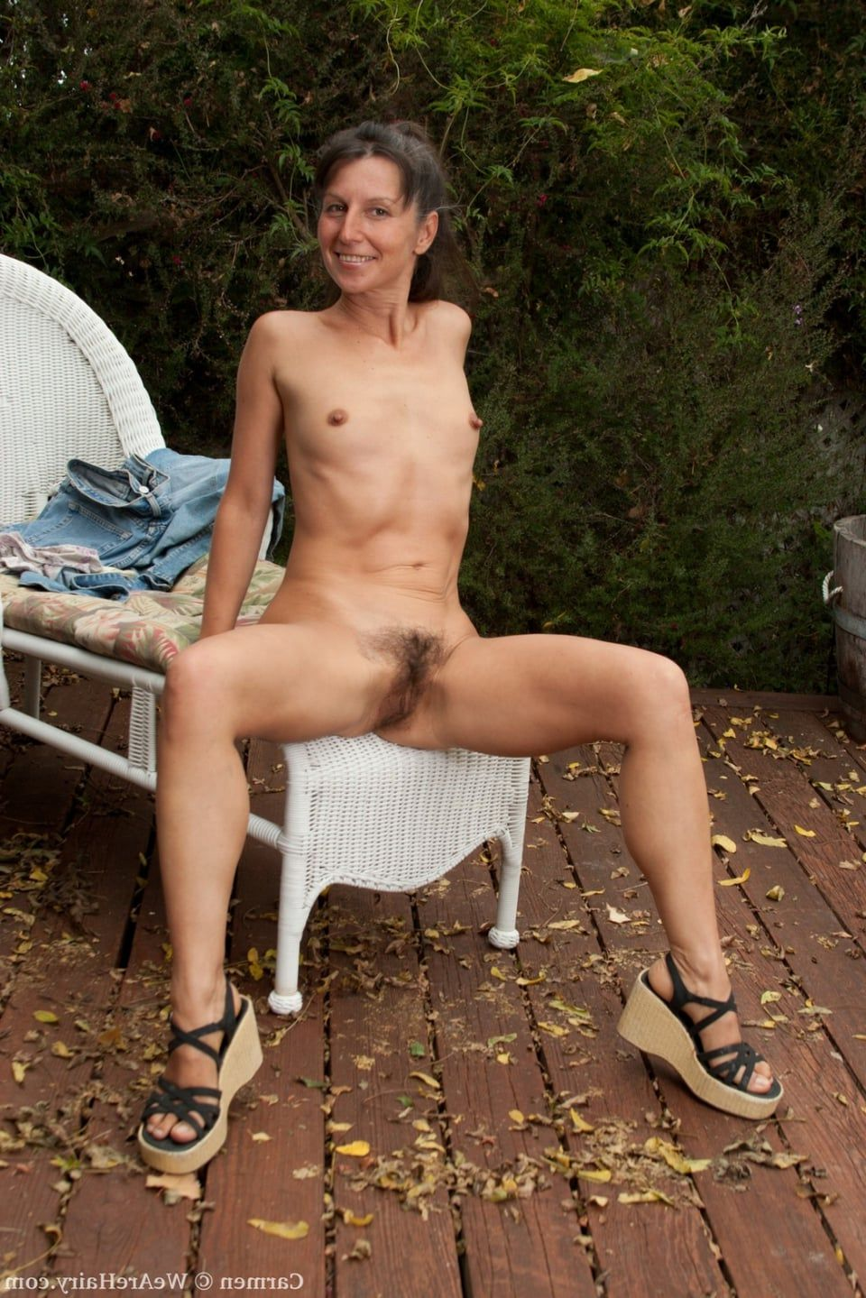 True outdoor granny porn the
