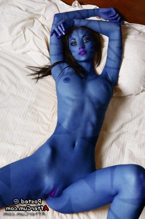 girl naked avatar Blue