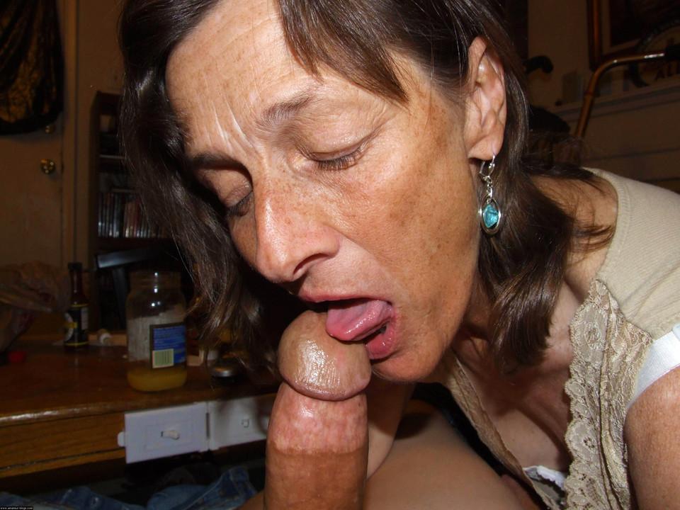 granny blowjob milf Mature
