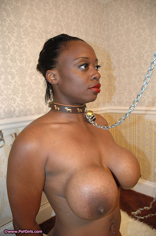 Black slave lady naked