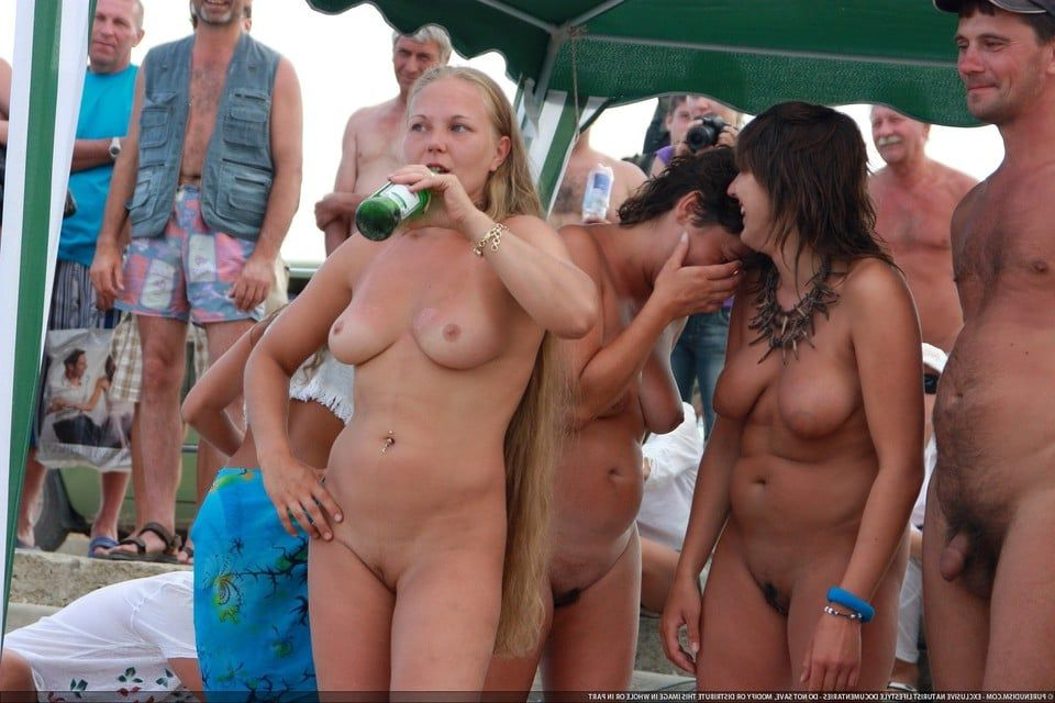 Girls miami naked beach