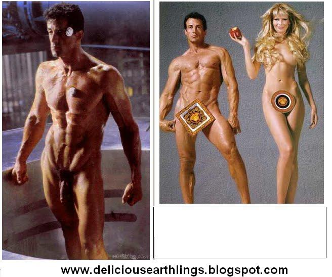 Stallone penis sylvester Sylvester Stallone