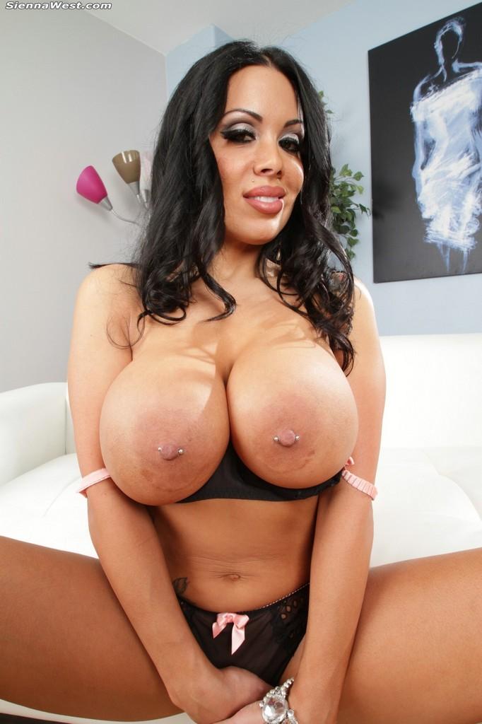 Большие груди порно sienna