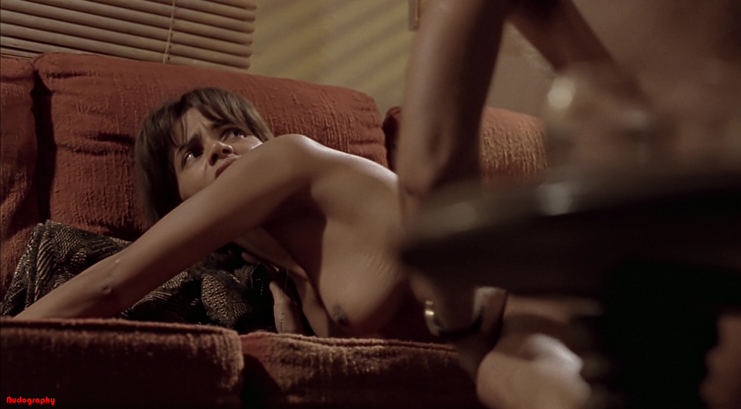 Apologise, but, Halle berry swordfish scene