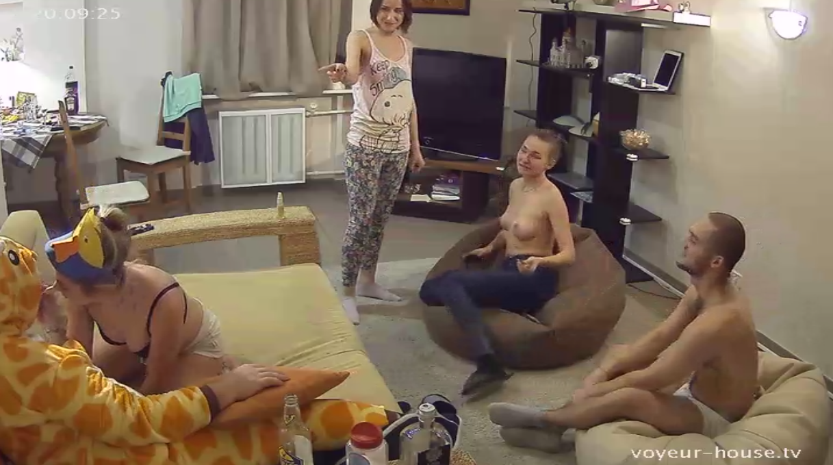 Swinger wives sex party