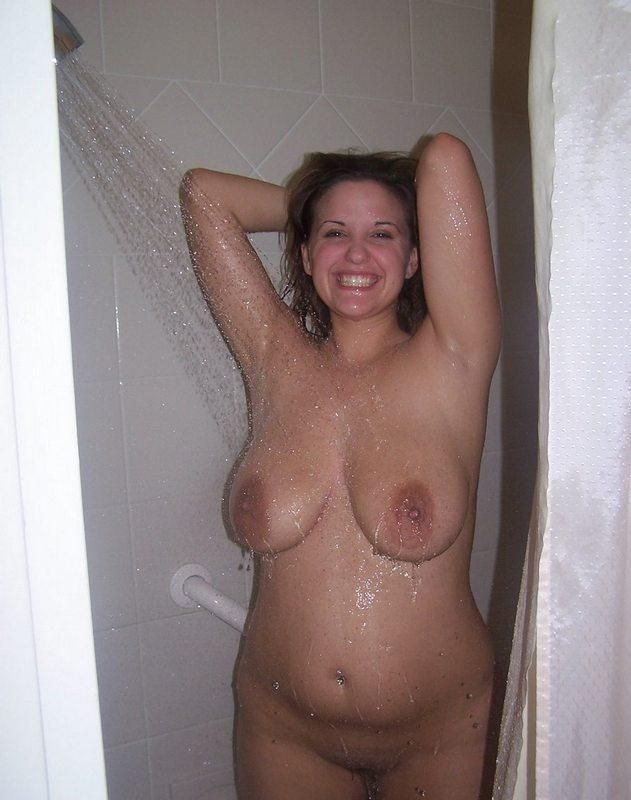 You were Thick naked girls shower regret