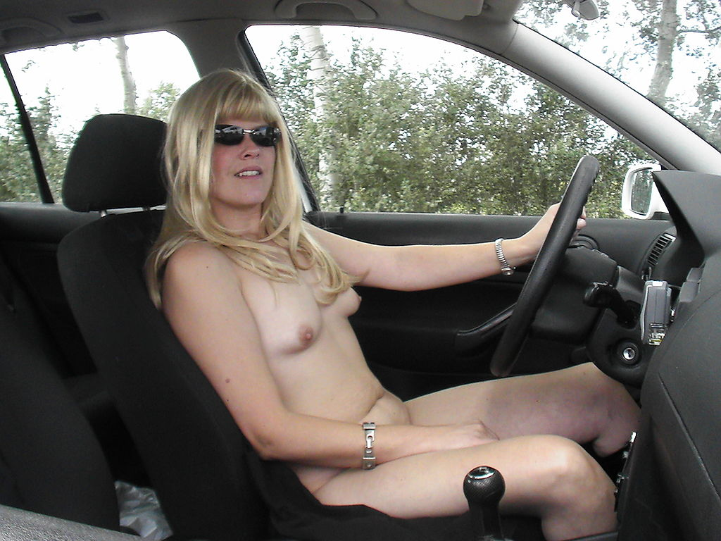 Geminisex Nude Naked Woman On Truck