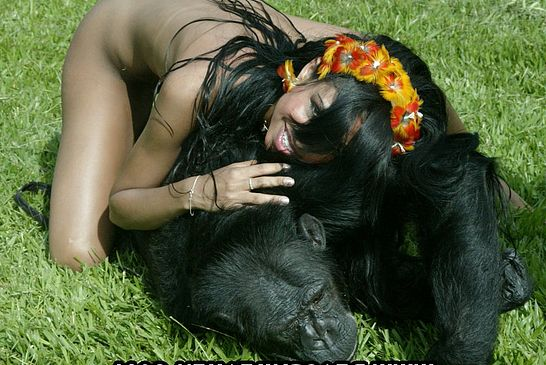 from Kylen chimpanzee with girl sex