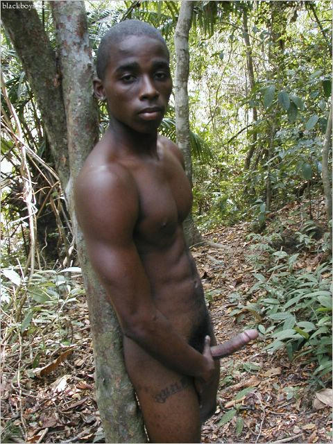 Very nude african tribal men are not