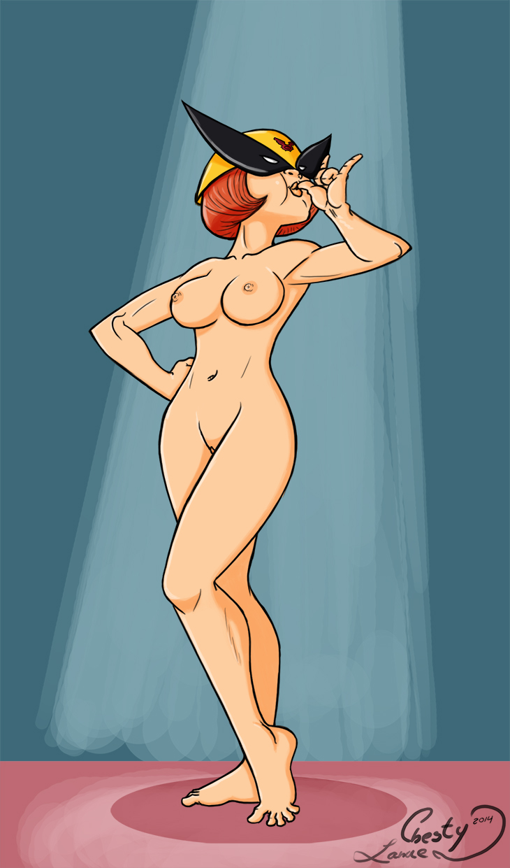 harvey birdman bird girl nude