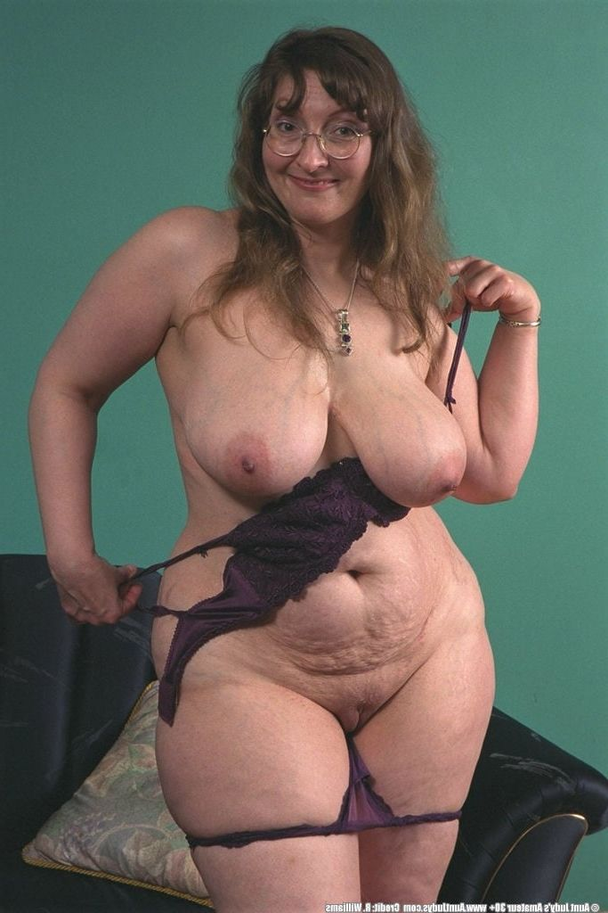 nudist Fat women mature