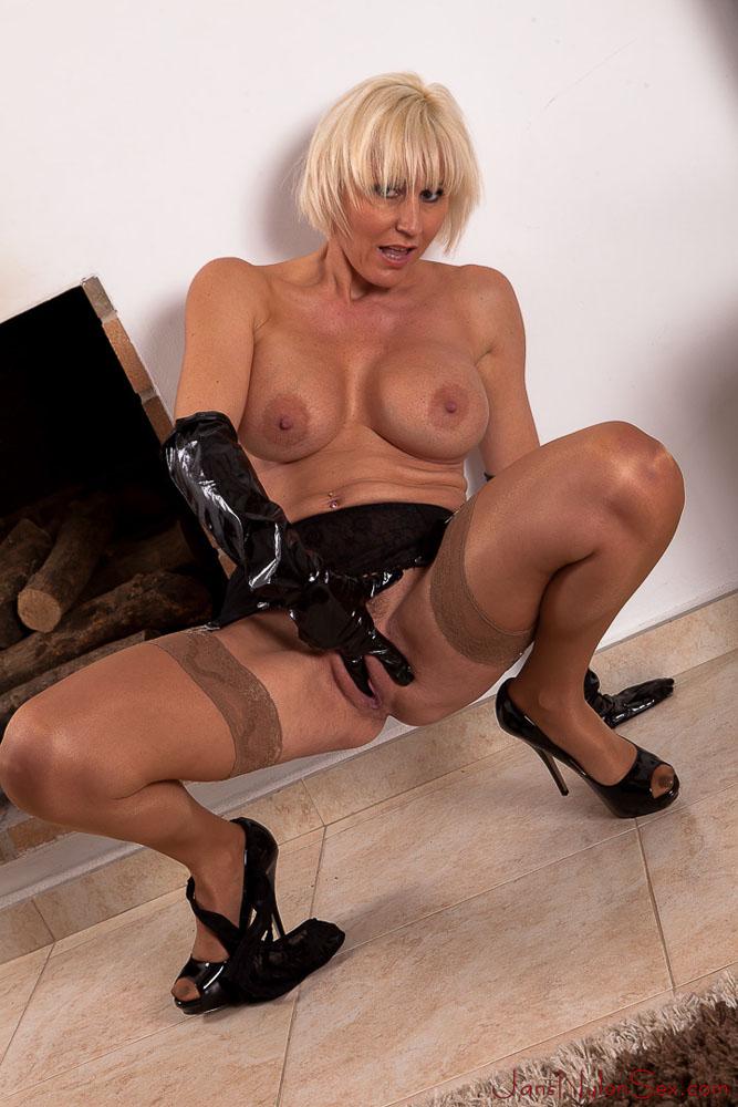 nylon stocking sex you