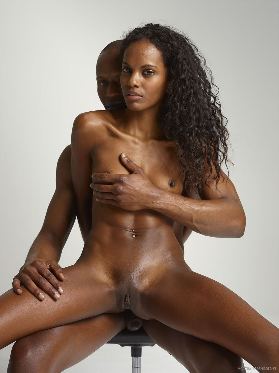 naked beautiful black woman