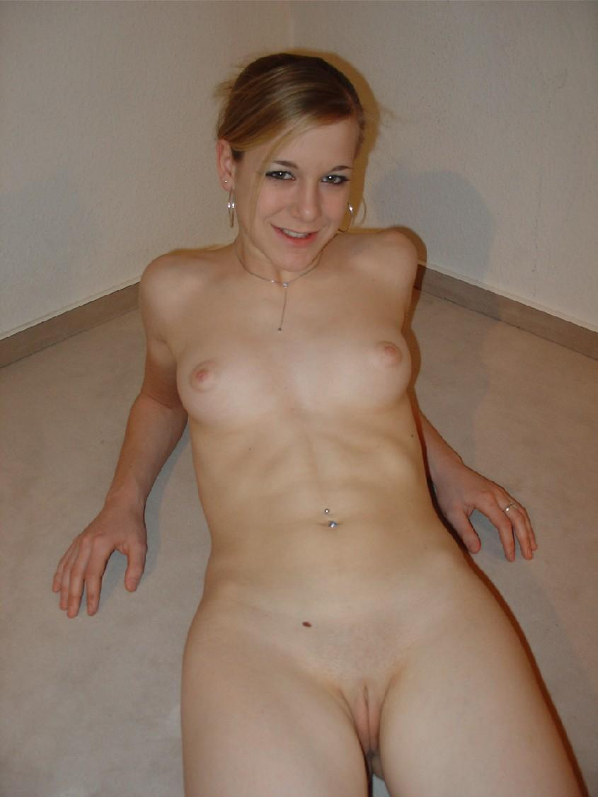 German Blonde Teen Blowjob