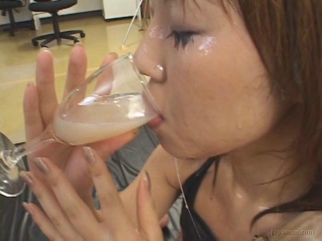 Susan Ayn Piss Drinking