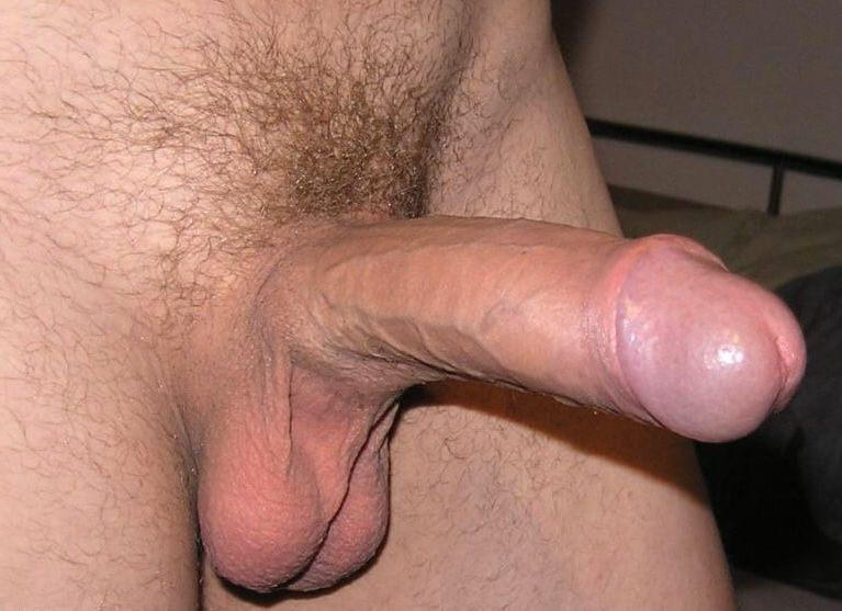 Cum dripping cock close up