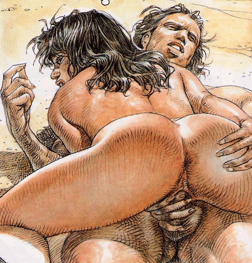 Рисунки от художников порно