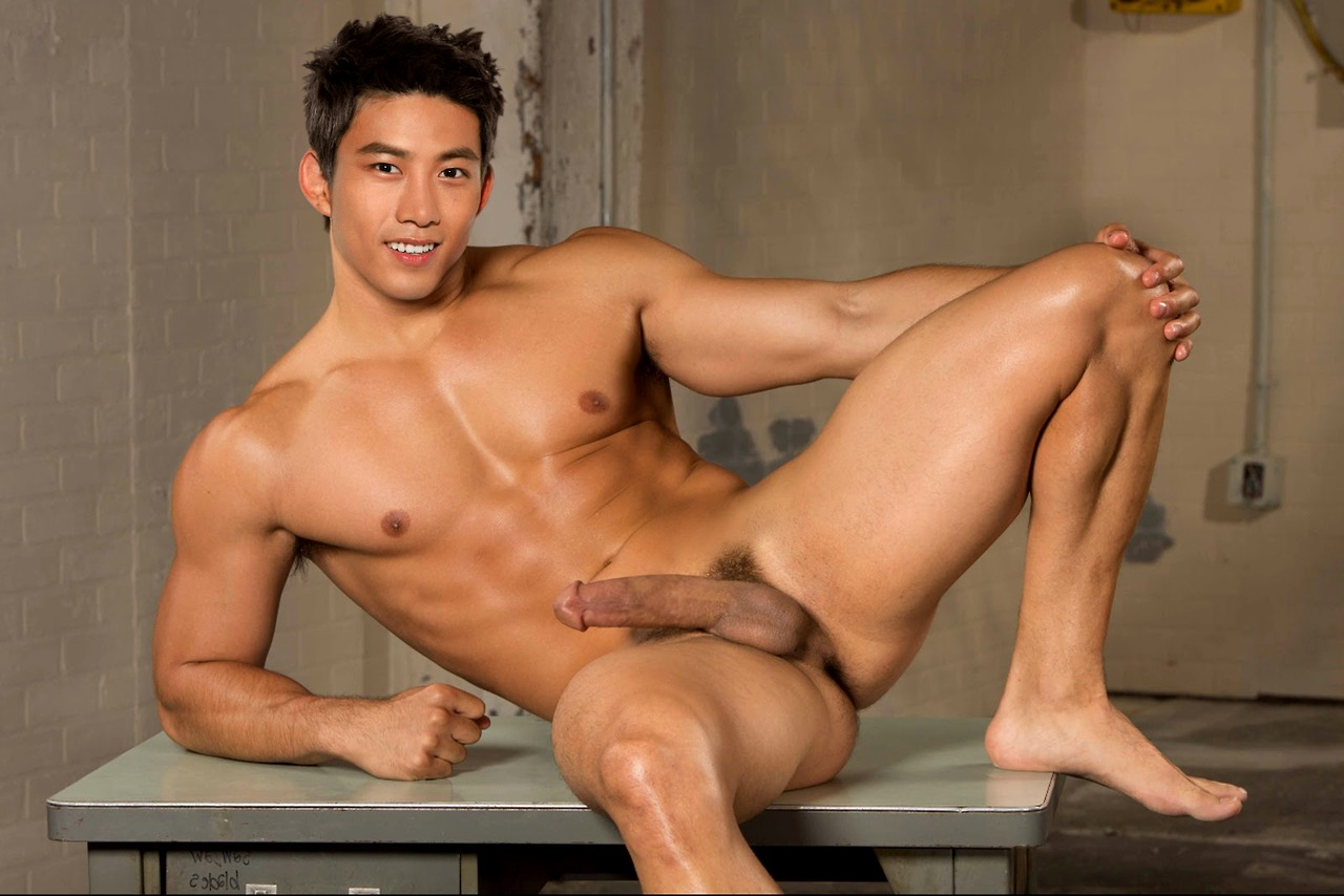 man naked korean