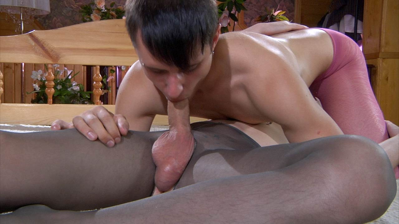Twink bondage with older gay man and young 9
