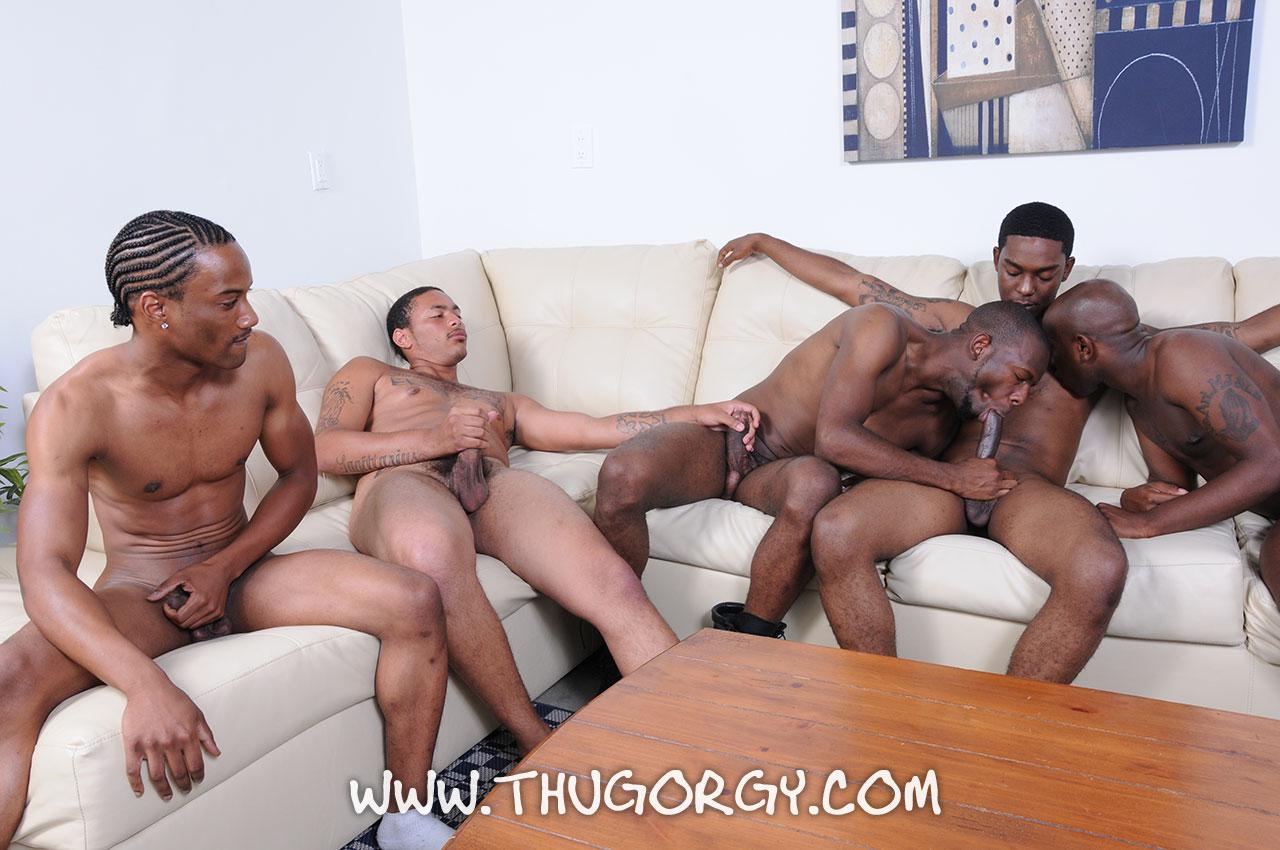 huge black dick orgy