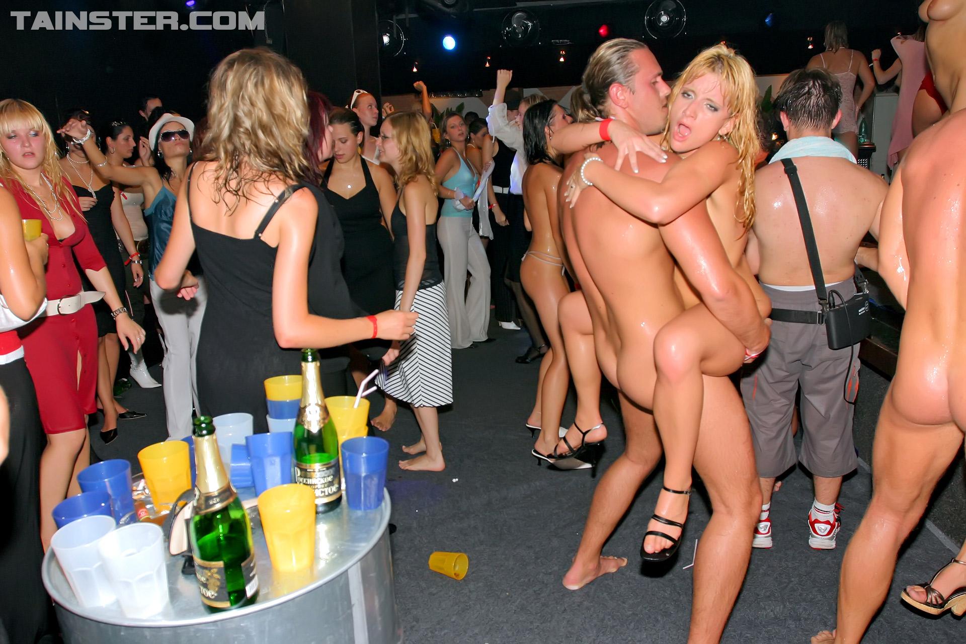 Blonde Euro Amateur Party