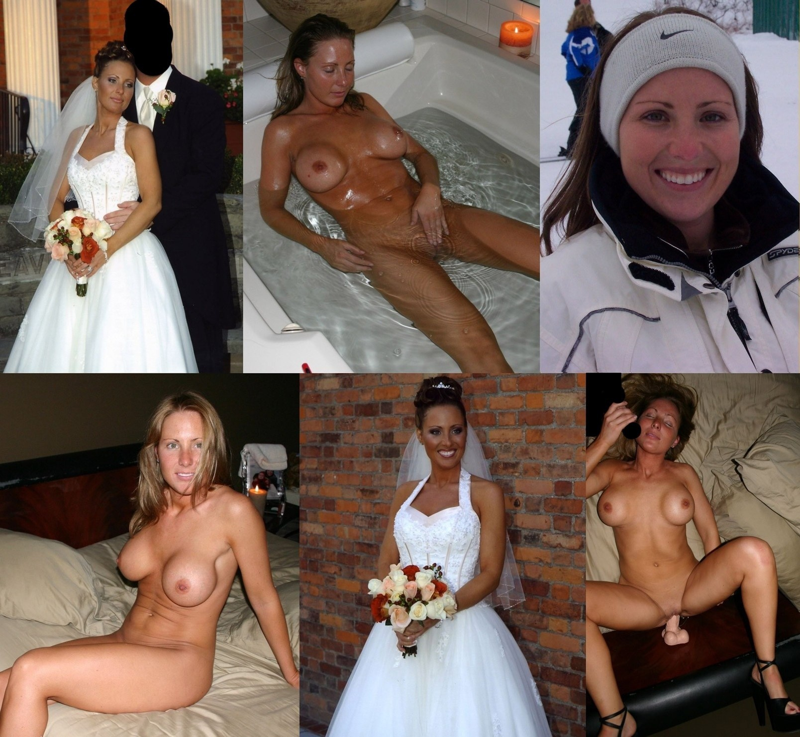 Join told real amateur brides dressed and undressed thank for