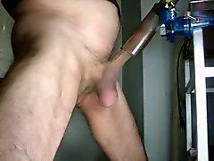 Vieil homme masturbation