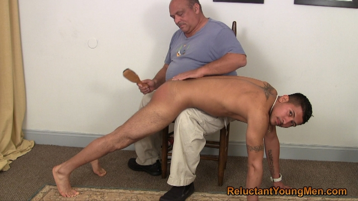 Gay male twinks spanking