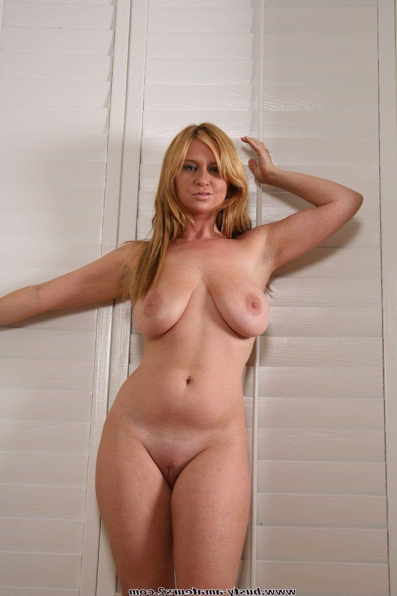Skinny body fake tits