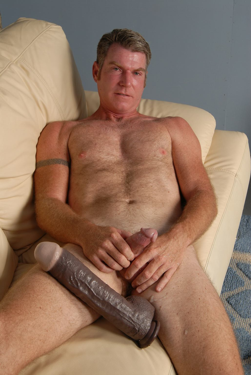 Mature man wanking good