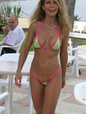 Micro bikini wife