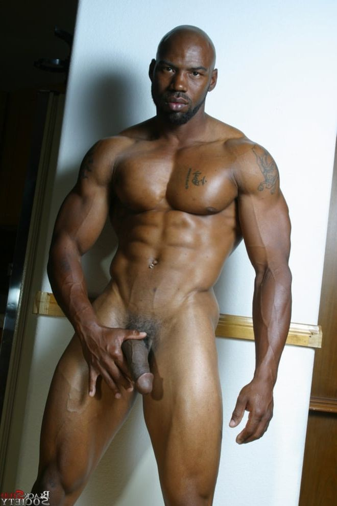 ass man black muscle