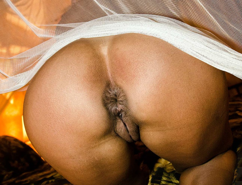 pussy and Black ass woman