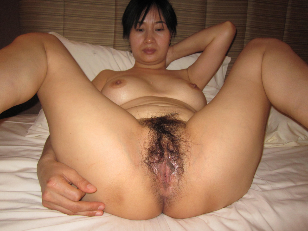 mature asian naked Hairy women