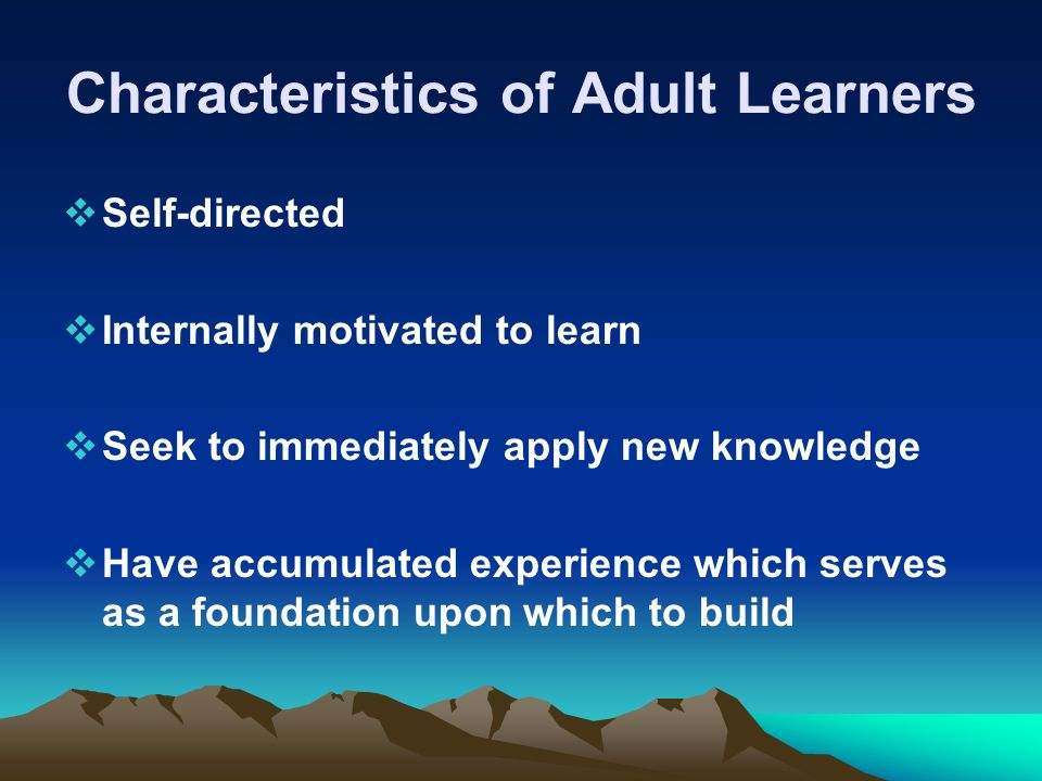 the characteristics of a bad learner This is not to say that having one of these characteristics automatically bars anyone from assuming a leadership position in fact, i believe people can learn to overcome any of these bad habits.