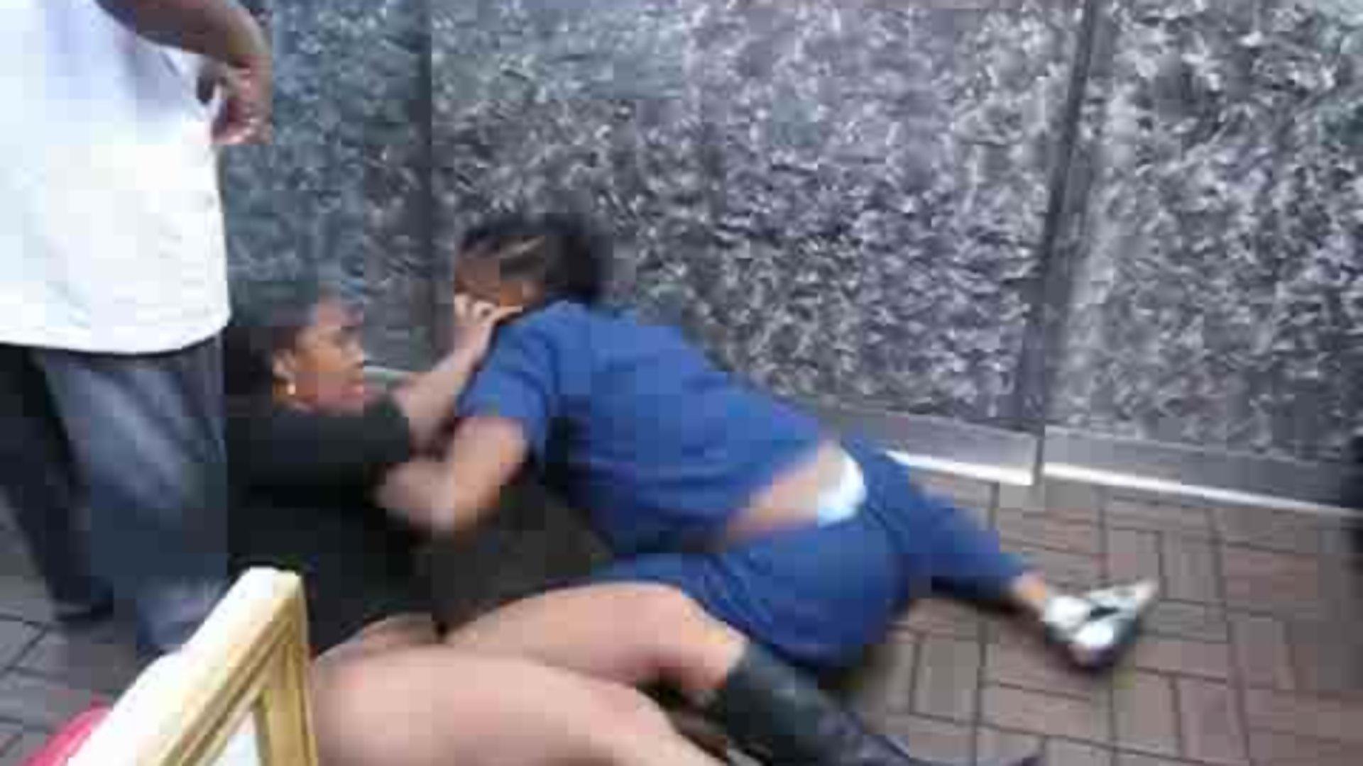 Free porn tube girls street fighting